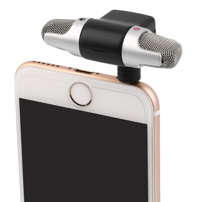 how to connect phone microphone to pc