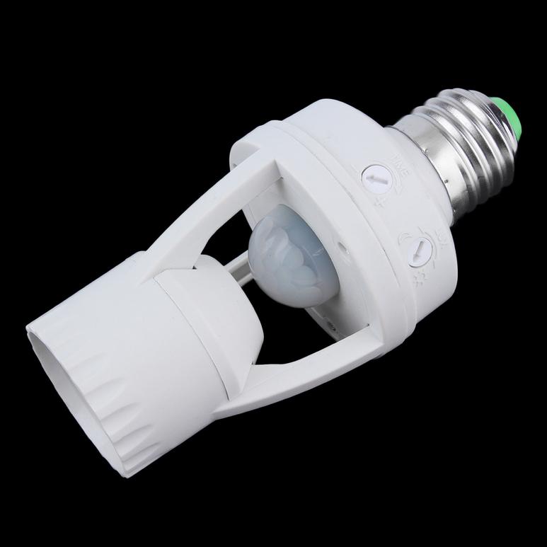 e27 led infrared motion detection light sensor light bulb switch home white. Black Bedroom Furniture Sets. Home Design Ideas