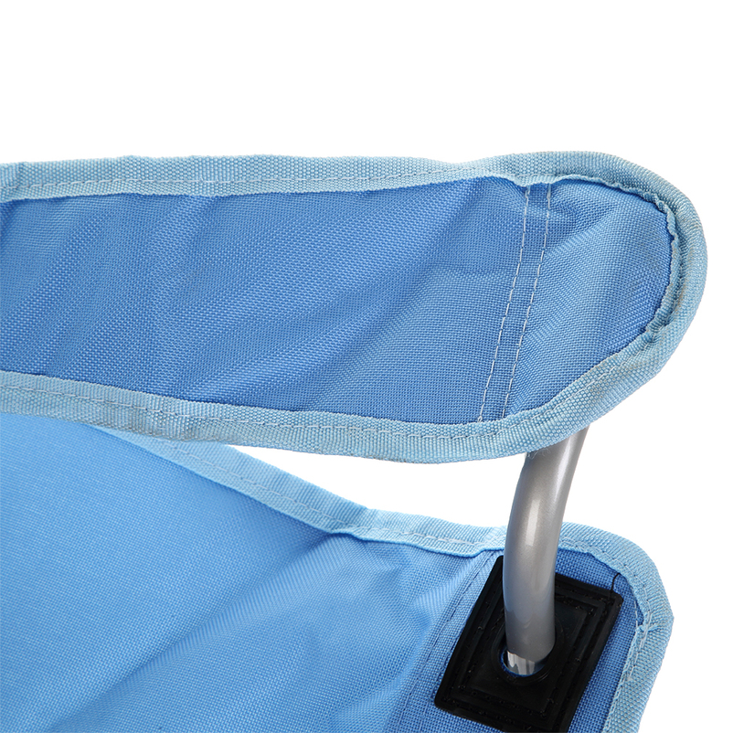 portable shark blue beach chair children toddlers outdoor folding camping chair ebay. Black Bedroom Furniture Sets. Home Design Ideas