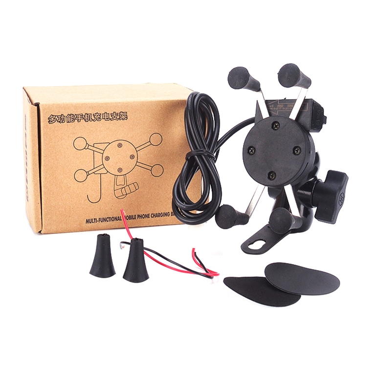 Allwin Universal Motorcycle Phone Holder Support Stand