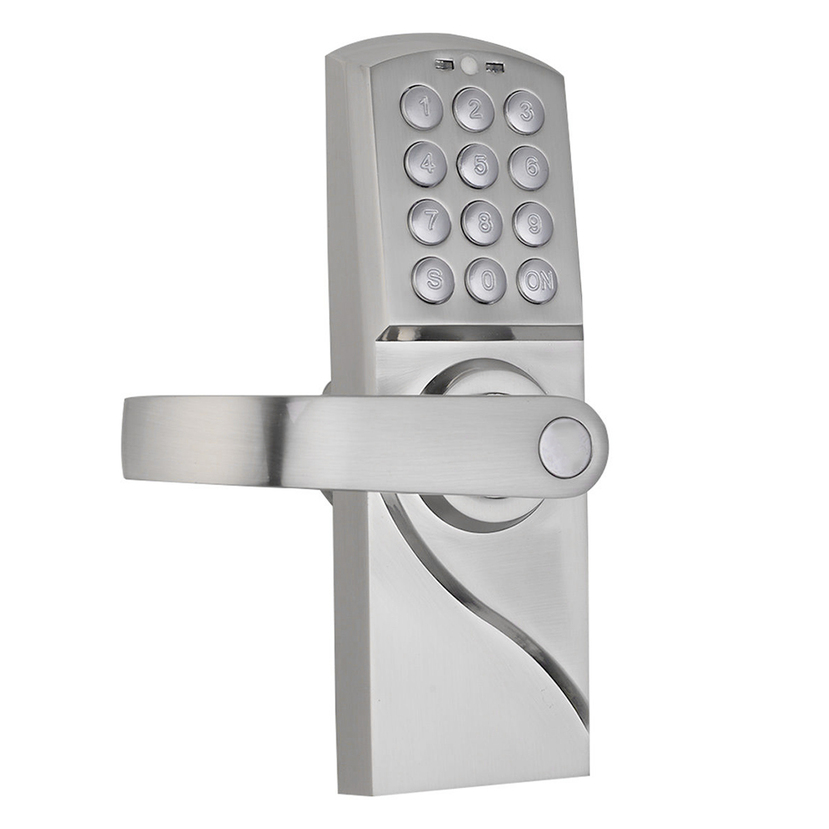 digital electronic code keyless keypad security entry door lock right handle oy ebay. Black Bedroom Furniture Sets. Home Design Ideas