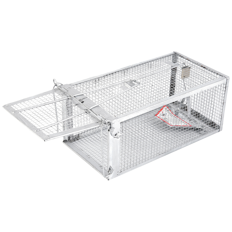 One Door Animal Trap Steel Cage For Small Live Rodent
