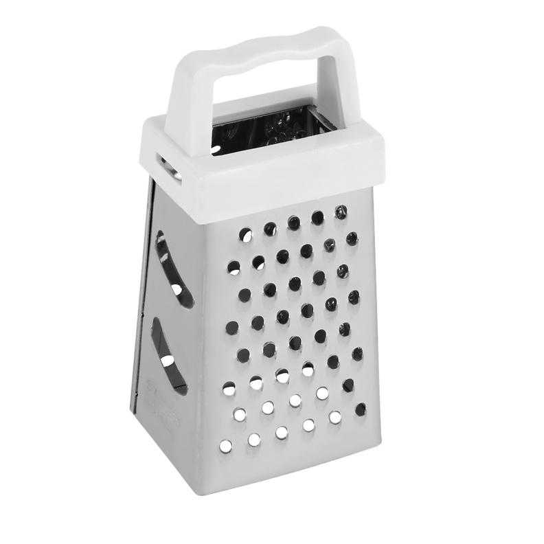 Useful Mini 4 Sides Design Stainless Handheld Grater