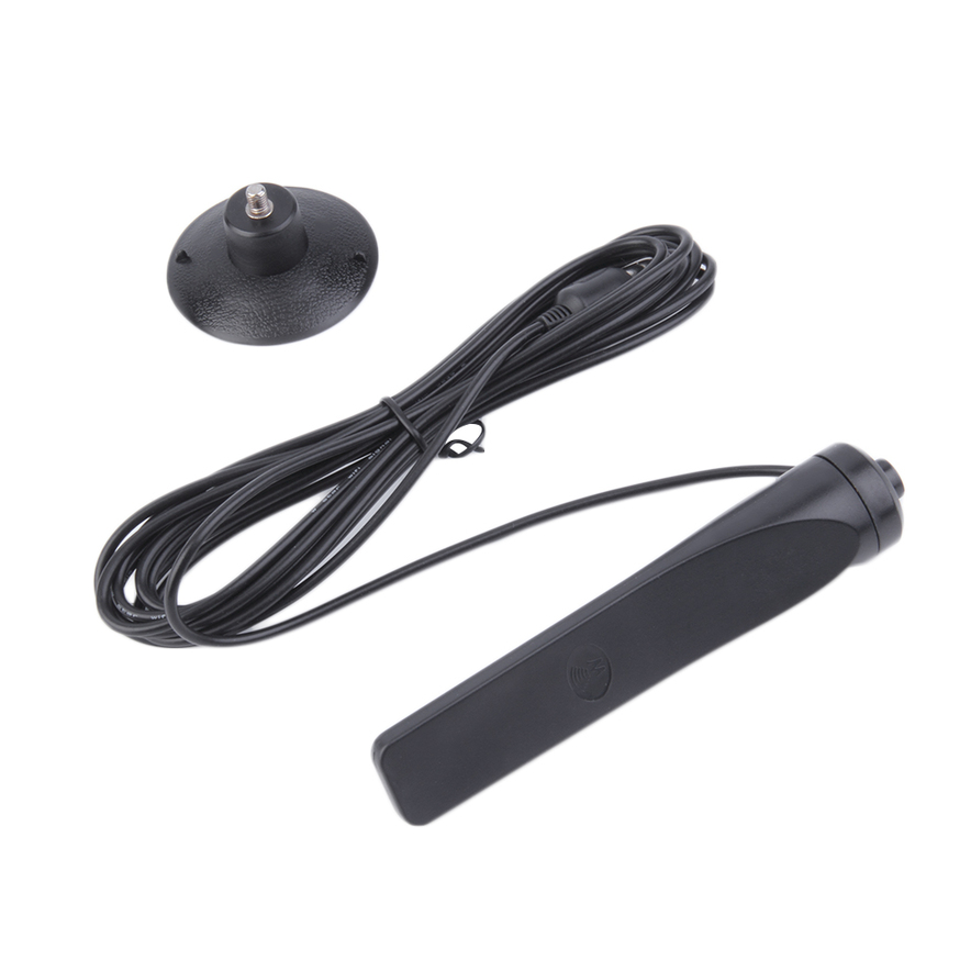 digital 16dbi booster antenna aerial with extension cable for dvb t tv hdtv dh ebay. Black Bedroom Furniture Sets. Home Design Ideas
