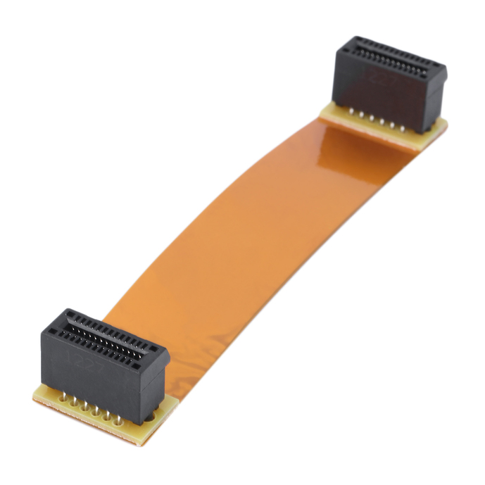 Flexible 8cm 80mm SLI Bridge PCI-E Cable Video Card Connector For ASUS#S | eBay