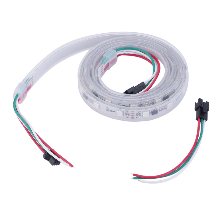 how to connect addressable led strip 12v