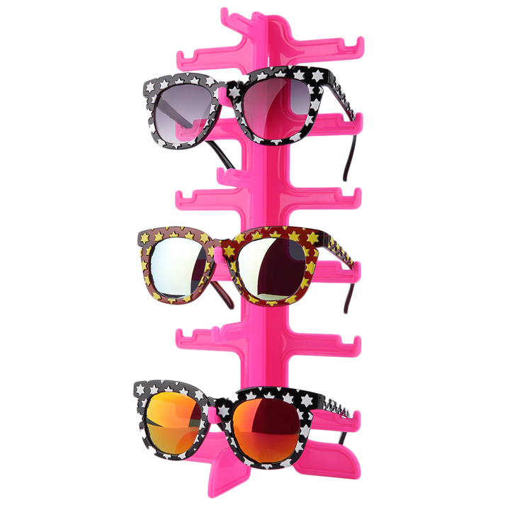 Glasses Frame Display : New Sun Glasses Glasses Plastic Frame Display / Show Stand ...