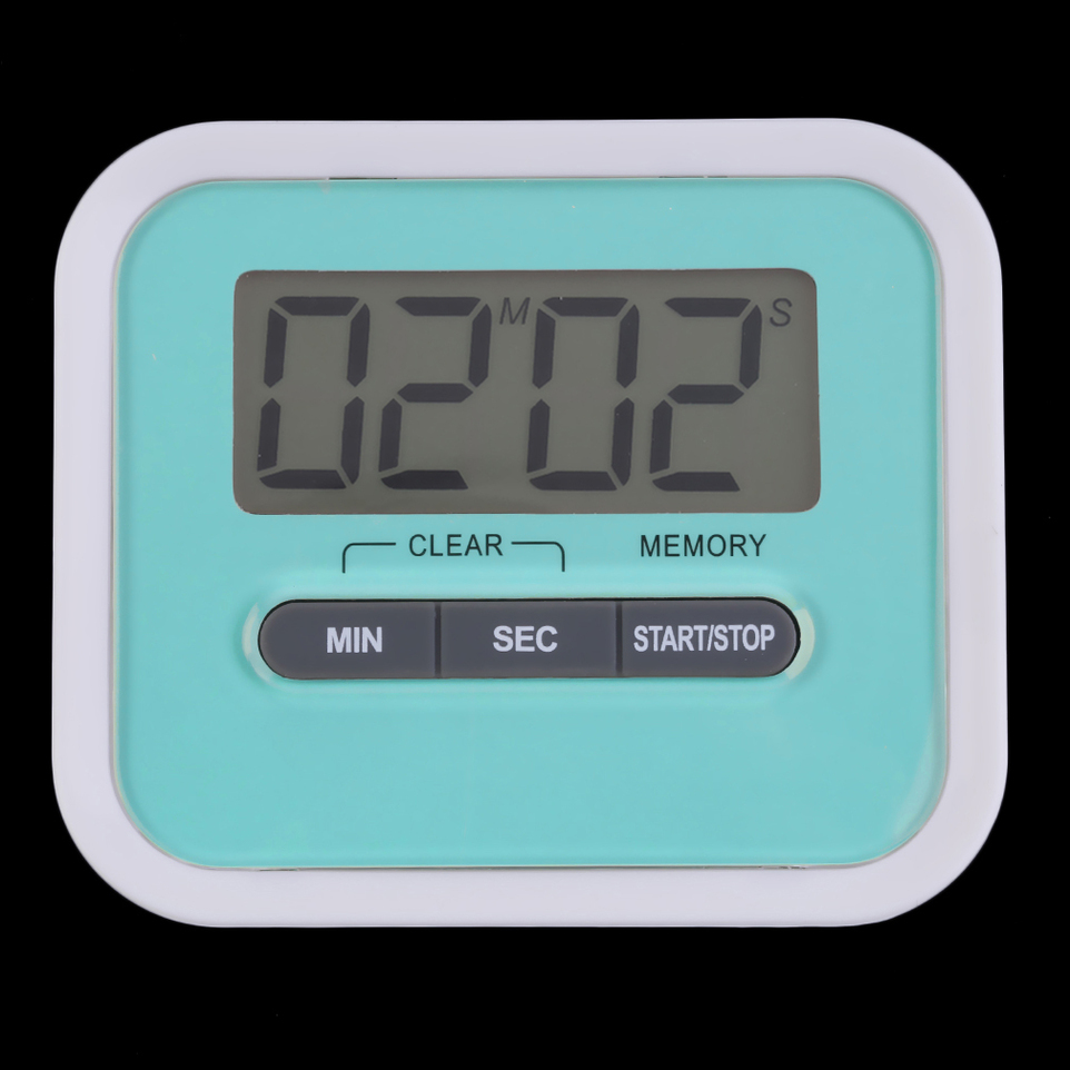 Large LCD Digital Kitchen Cooking Timer Count-Down Up Clock Loud ...