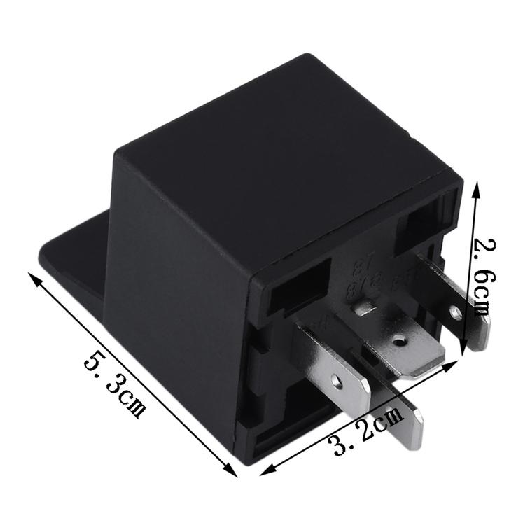 1 X 12v 12volt 40a Auto Automotive Relay Socket 40 Amp