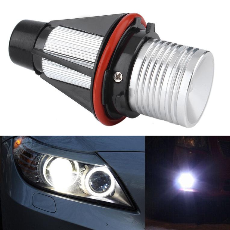 Angel Eyes Halo 5W LED Ring Light Bulbs for BMW X5 E39 E60 ...