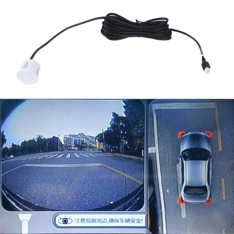 Led Parking Sensor Kit 4 Sensors Vehicle Car Reversing
