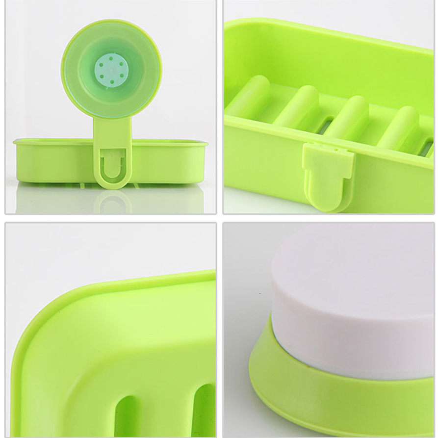 1pc plastic bathroom shower strong suction cup soap dish for How strong is acrylic glass