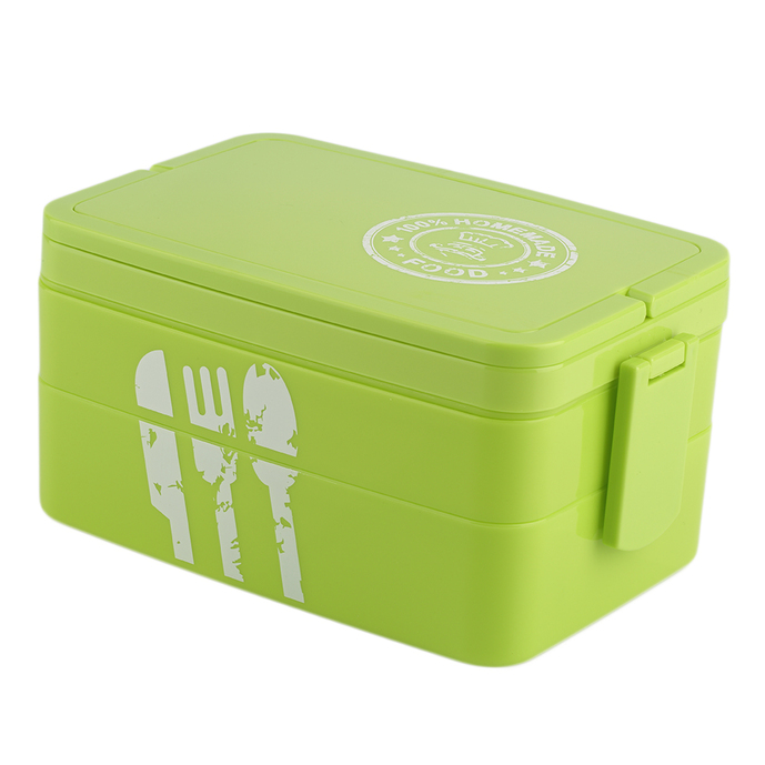 plastic kids picnic bento lunch box lock food container. Black Bedroom Furniture Sets. Home Design Ideas