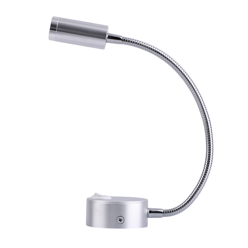 Led Wall Lamp With Switch : LED Wall Light Bedside Lamp Reading Wall Lamps Adjustable 3W with Switch JL eBay