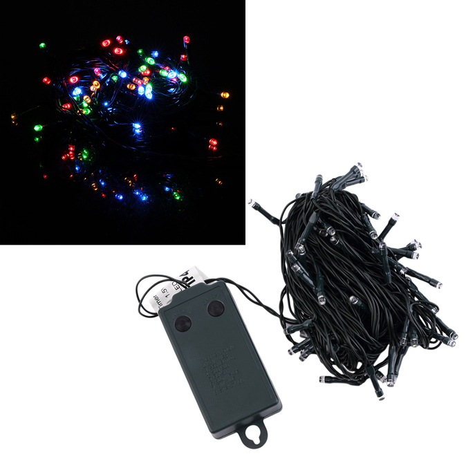 10m 72 LED Battery Operated String Fairy Timer Light Party Wedding Garden SL