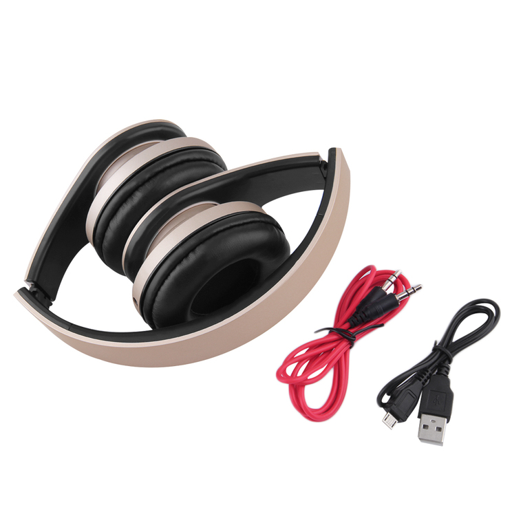 4 1 foldable wireless bluetooth wired headphone earphone headset mp3 tf f. Black Bedroom Furniture Sets. Home Design Ideas