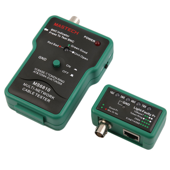 Coax Cable Tester : Coaxial cable bnc network wire line tester detector