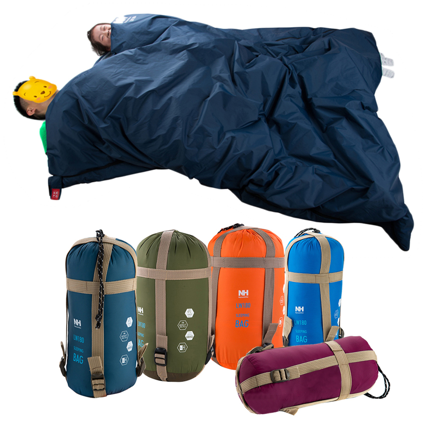 Outdoor Sleeping Bag Envelope Camping Travel Hiking Ultra ...