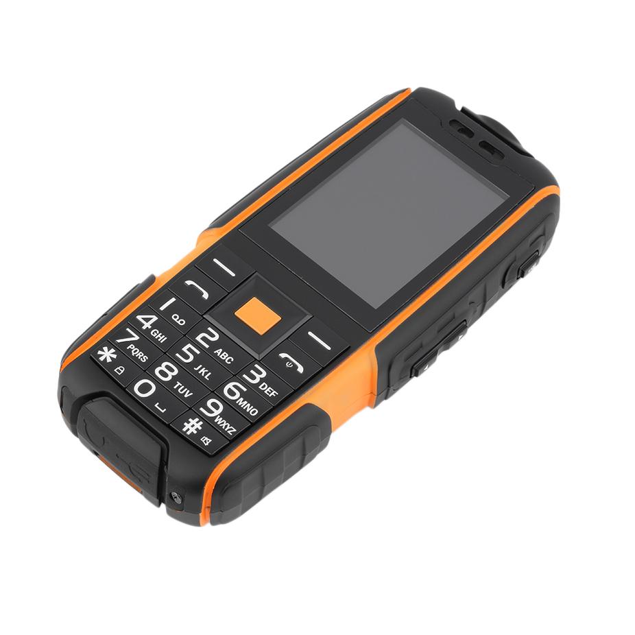 A9 2 4 Waterproof Mobile Cell Phone Shockproof Dual Sim