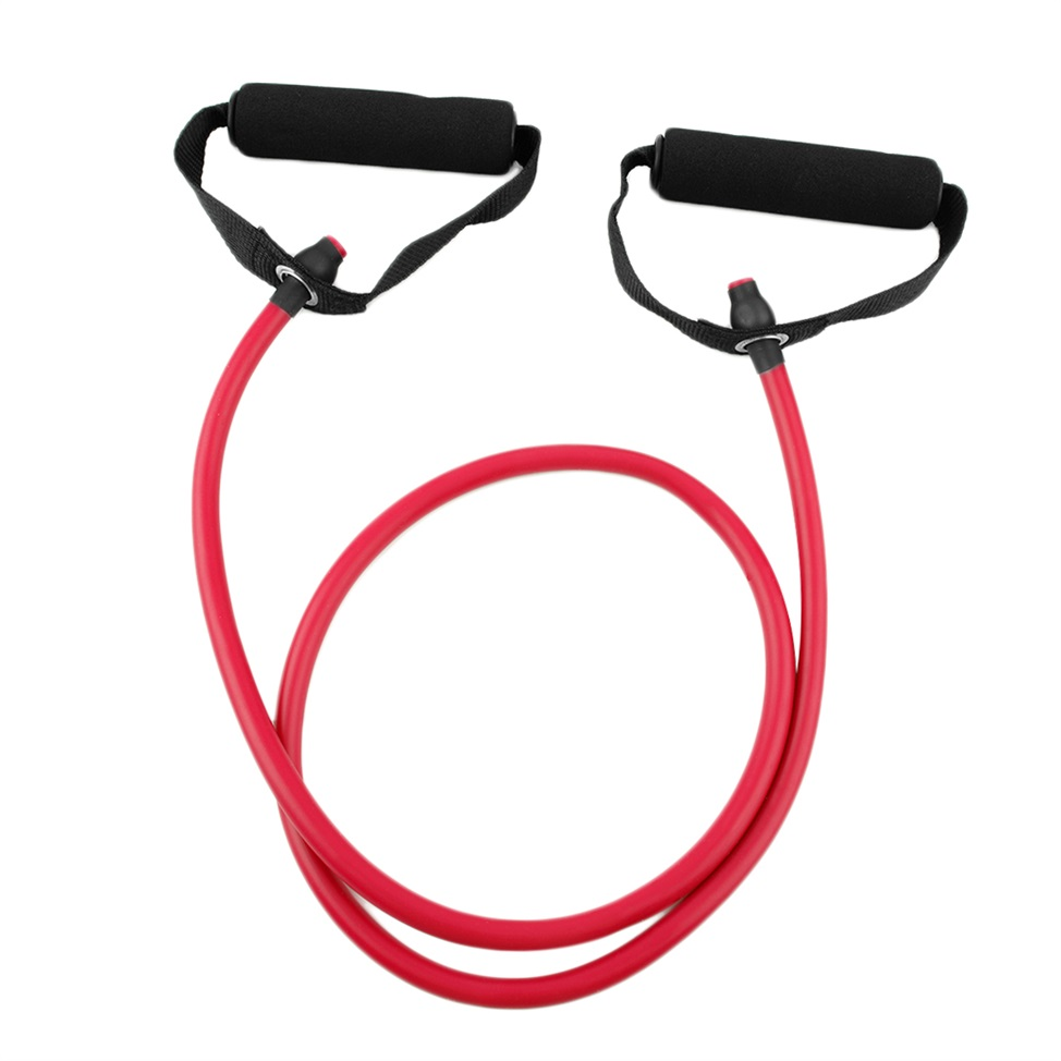 Fitness Resistance Band Rope Tube Elastic Exercise For