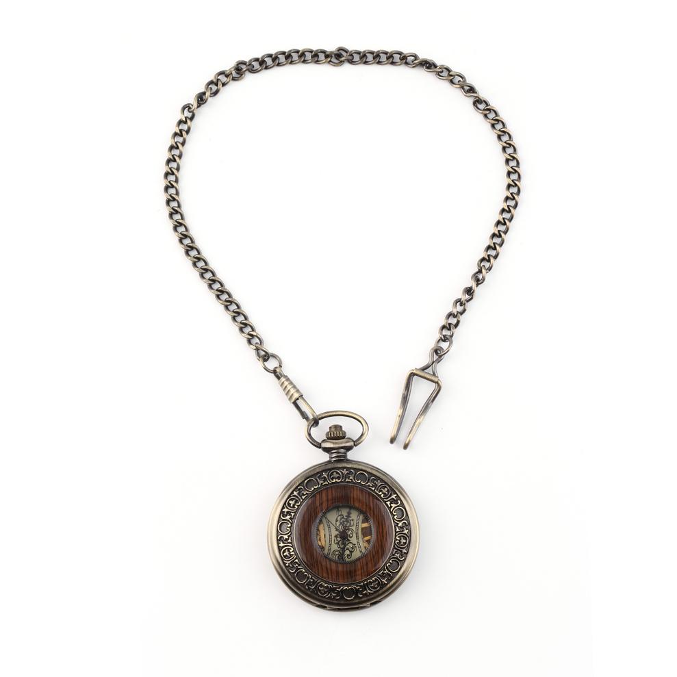 Men Women Antique Retro Vintage Pocket Mechanical Watch ...