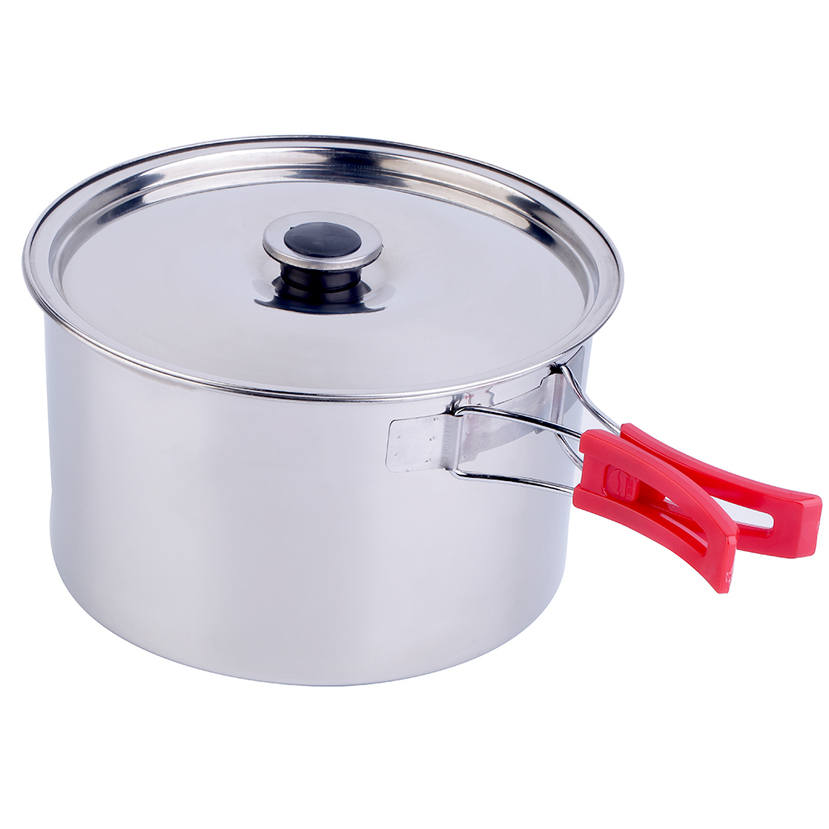6pcs outdoor camping cookware hiking equipment cooking for Outdoor kitchen equipment
