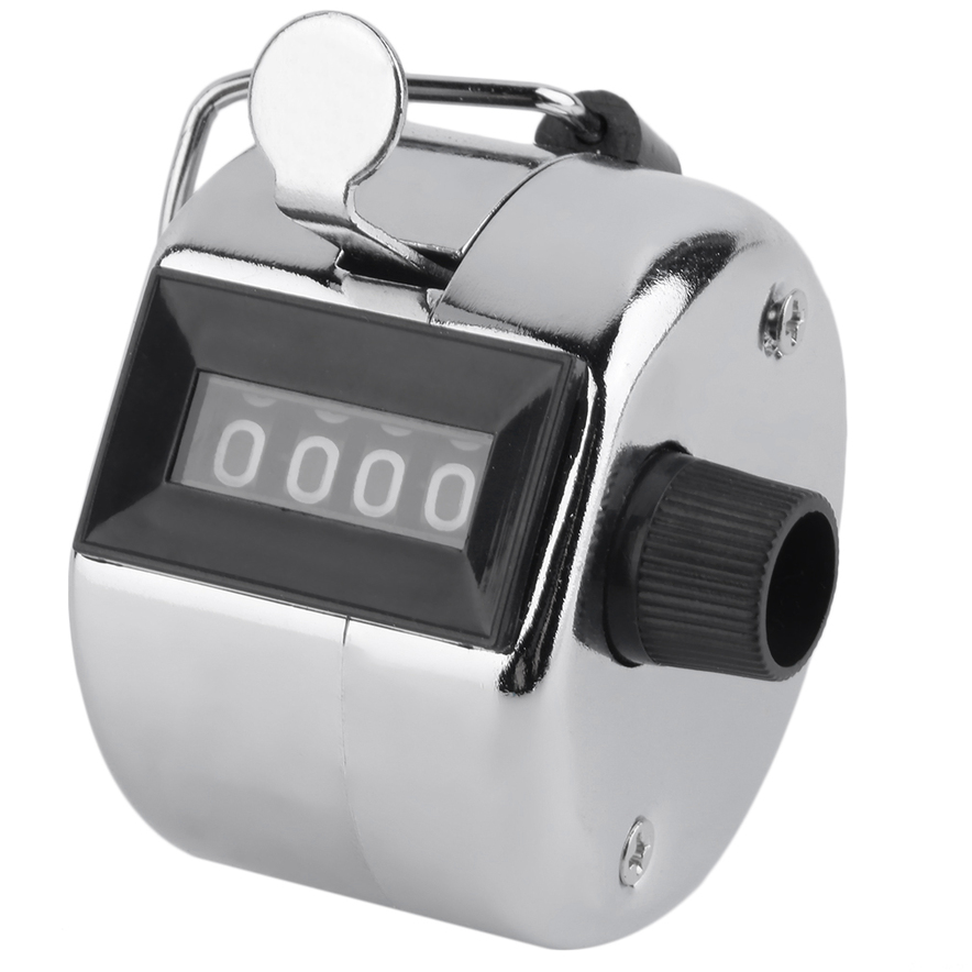 Counter clicker / February birthstone jewelry