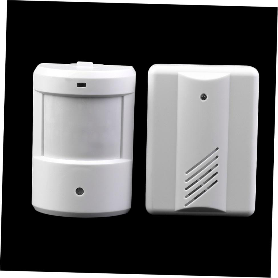 Driveway Patrol Garage Infrared Wireless Doorbell Alarm