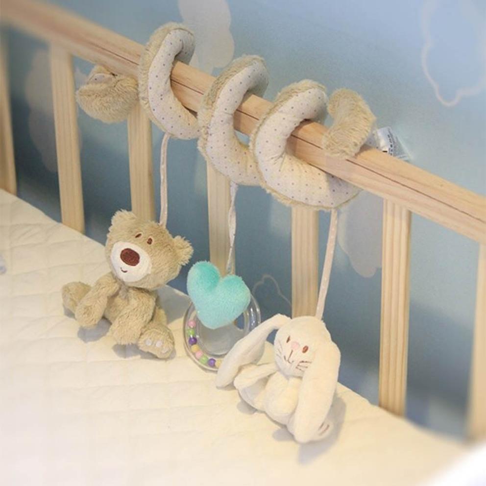 Soft Crib Toys : New baby kids soft plush toy animal rattles bed crib