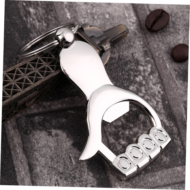 silver metal palm hand shape beer bottle opener key chain keyring gift nk ebay. Black Bedroom Furniture Sets. Home Design Ideas