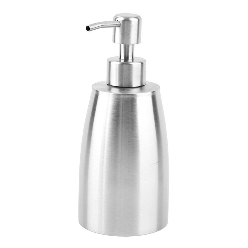 stainless steel liquid pump soap lotion dispenser hand