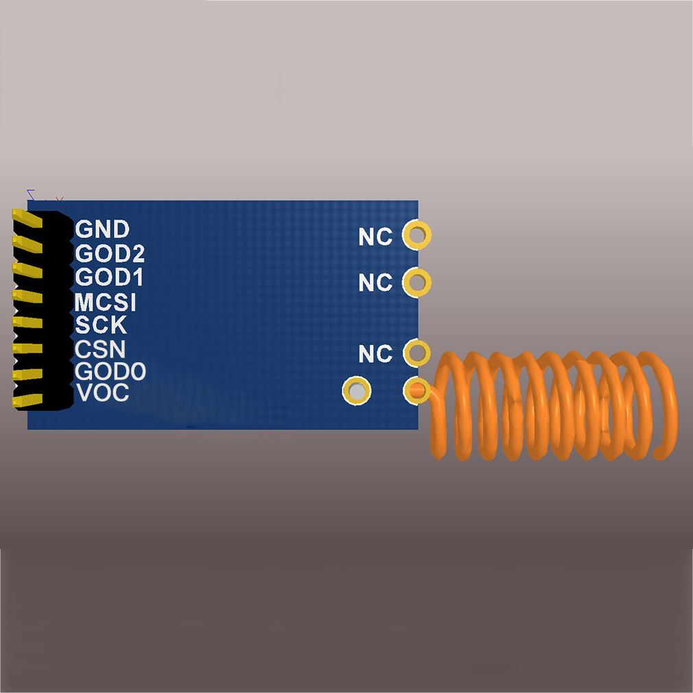 433M CC1101 10mW Wireless Sender Receiver Module NRF905//SX1212//SI4432