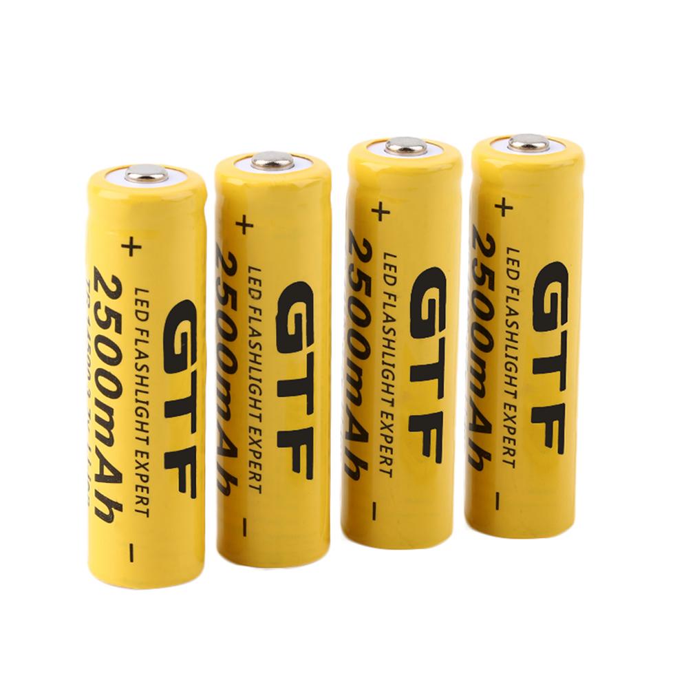 4pcs-3-7V-14500-2500mAh-Li-ion-Rechargeable-Battery-For-Flashlight-Torch-GA