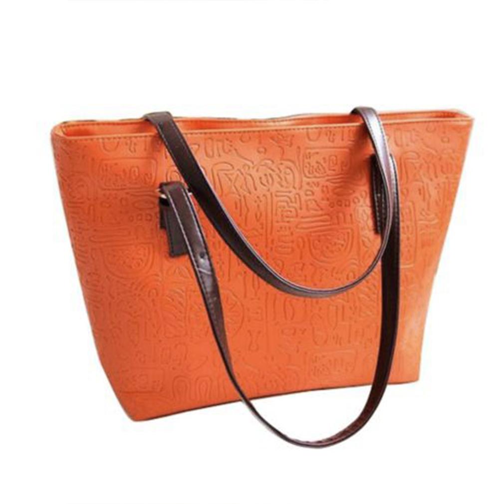 Women Handbag Shoulder Bags Tote Purse PU Leather Lady ...