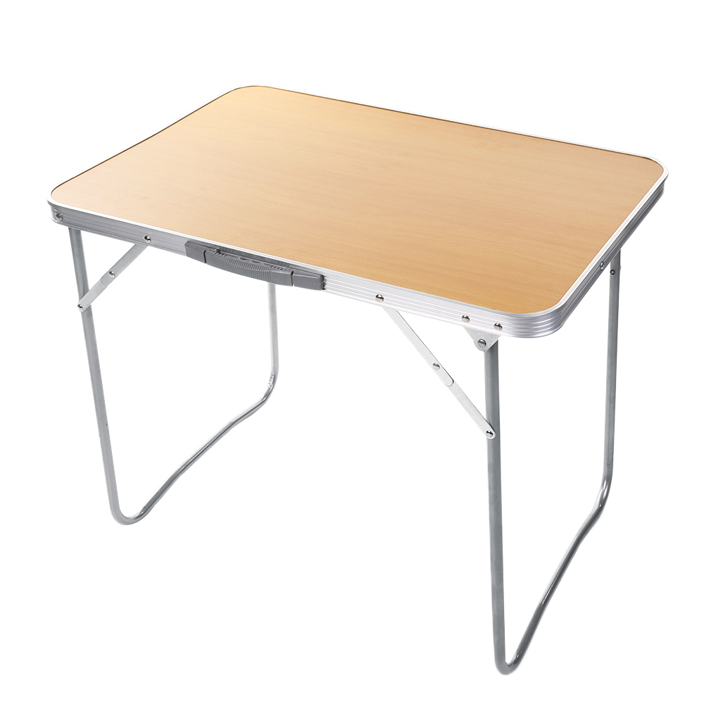 portable folding aluminum table in outdoor picnic party dining camping desk zf. Black Bedroom Furniture Sets. Home Design Ideas