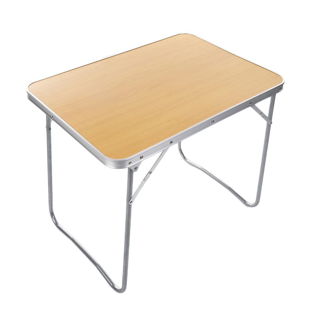 new folding table aluminum indoor outdoor picnic party dining table lightweight ebay. Black Bedroom Furniture Sets. Home Design Ideas