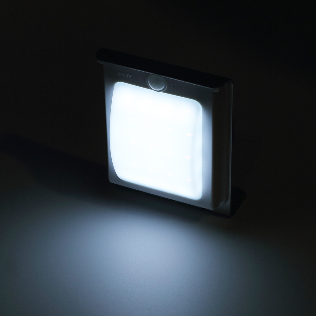 Porch Light Without Electricity: Hot LED Solar Power Motion Sensor Security Outdoor Light