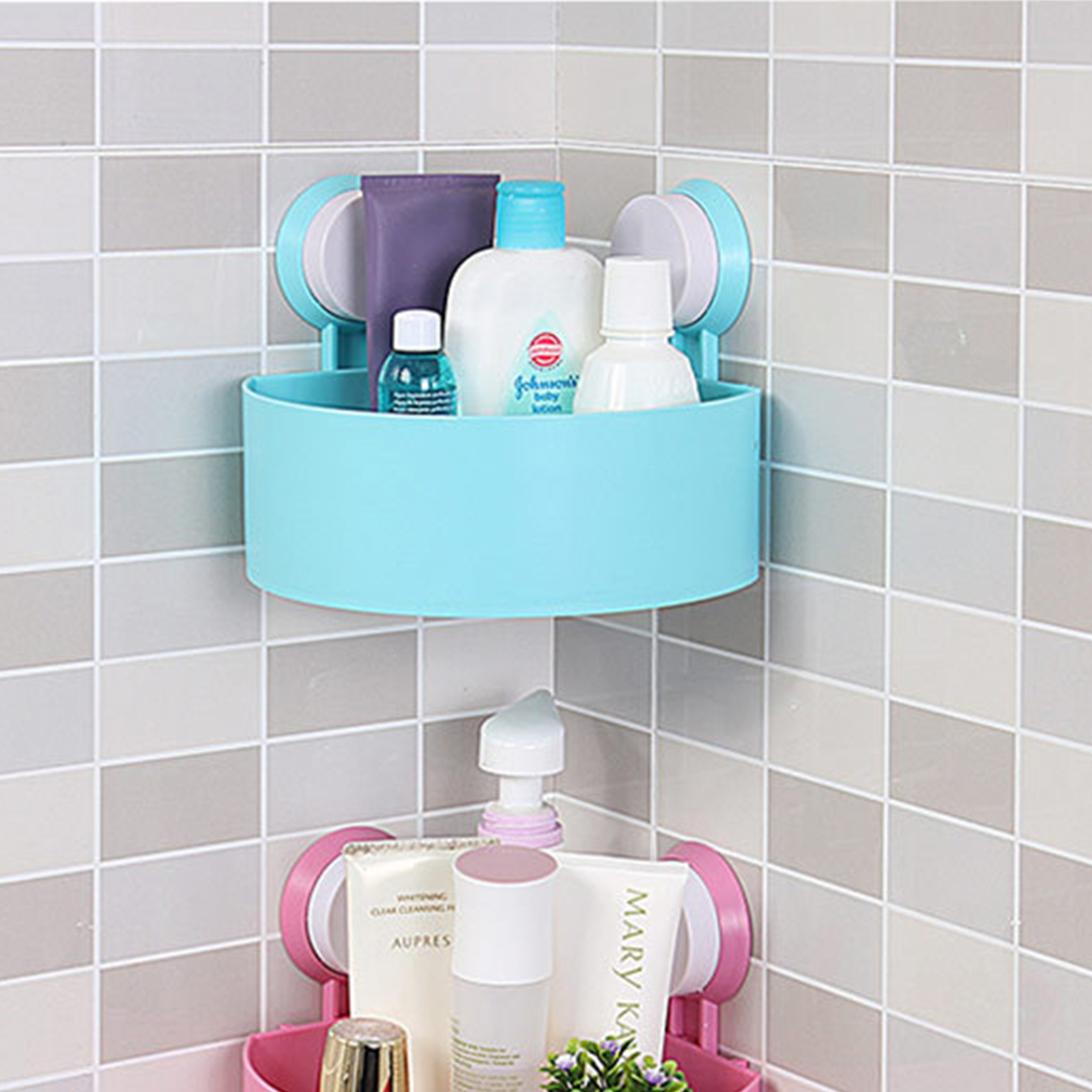 Plastic Bathroom Corner Storage Rack Organizer Shower