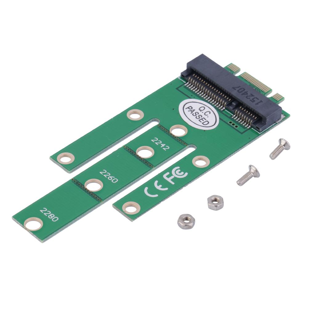Msata Connector Ssd To Sata 22 Pin Adapter Card Converter Ngff M2 B Based Solid State Drives