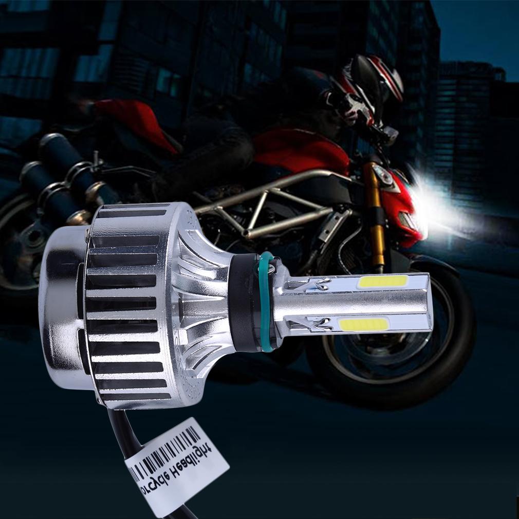 32w 3000lm cob led hi lo beam h4 motorcycle headlight front light bulb lamp wd ebay. Black Bedroom Furniture Sets. Home Design Ideas