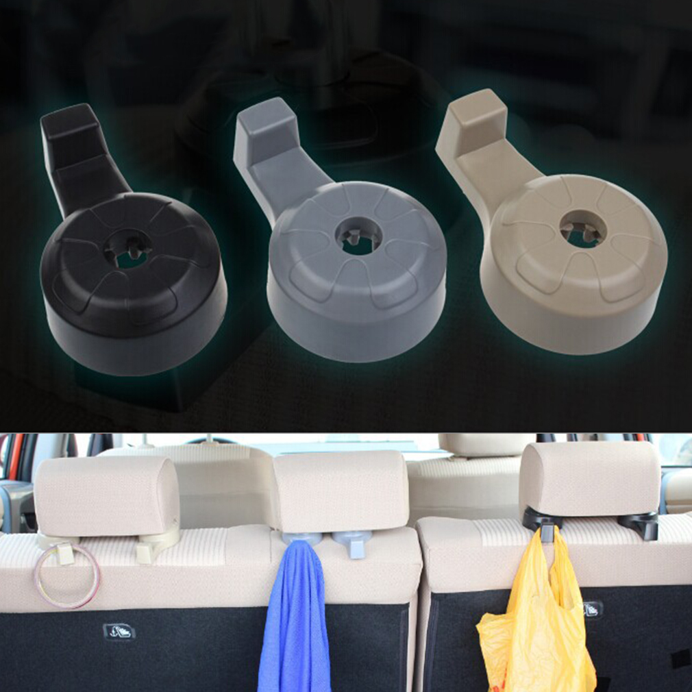 2 multi purpose car seat back hook convenient vehicle hanger vehicle hook xla ebay. Black Bedroom Furniture Sets. Home Design Ideas
