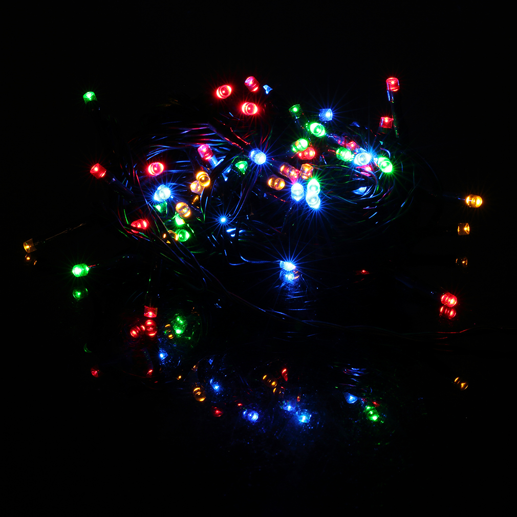 10m 72 Led Christmas Xmas Lights Outdoor String Light Battery Operated Timer