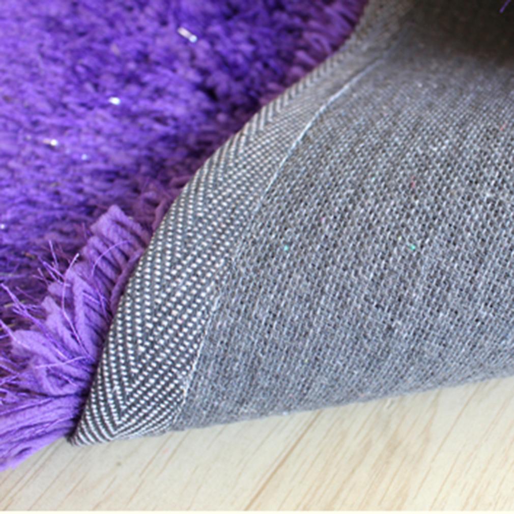 Plush Shimmer Rug: Thick 6cm Pile Modern Soft Shimmer Shaggy Rug 150*210