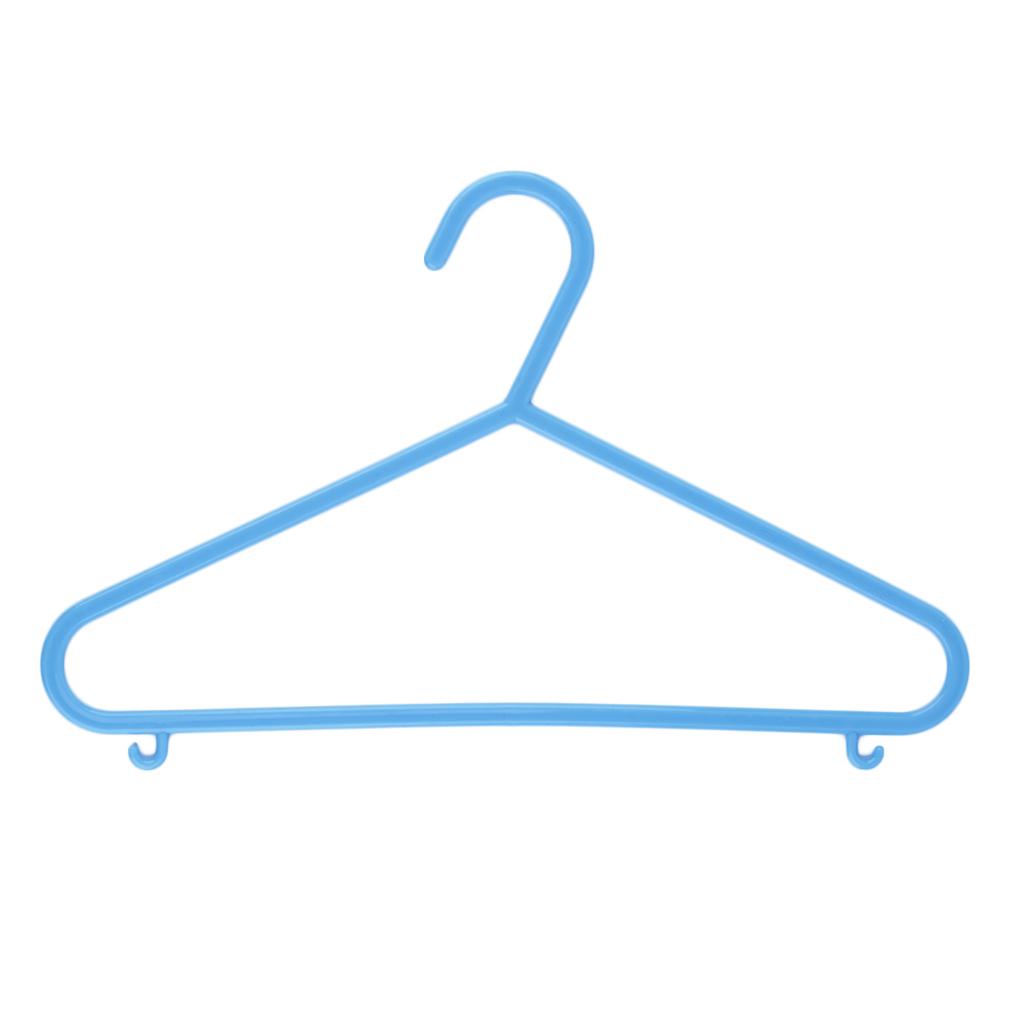 8pcs Kids Children's Plastic Baby Coat Clothes Hangers ...