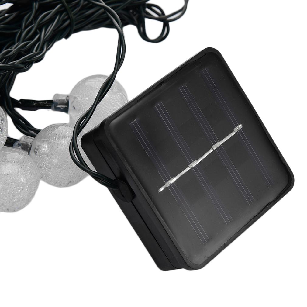 solar power 20 50 200led flower string fairy light outdoor for garden