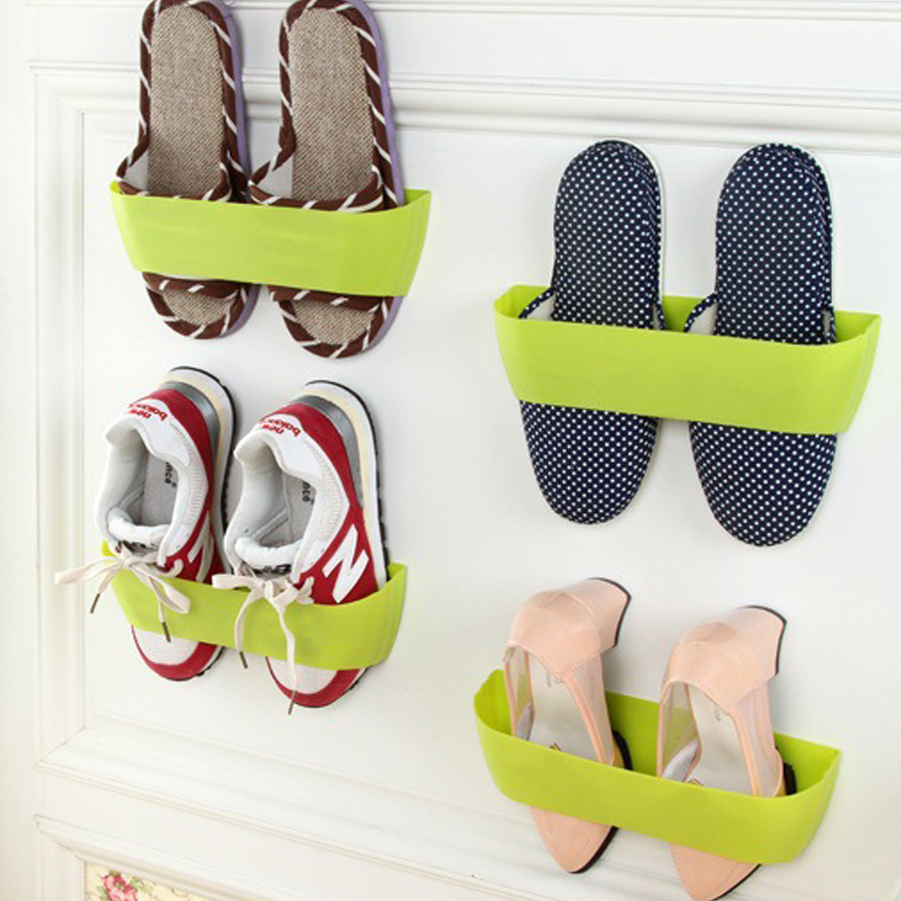 Creative Wall Mounted Shoes Rack Hanging Shoe Storage Shoe