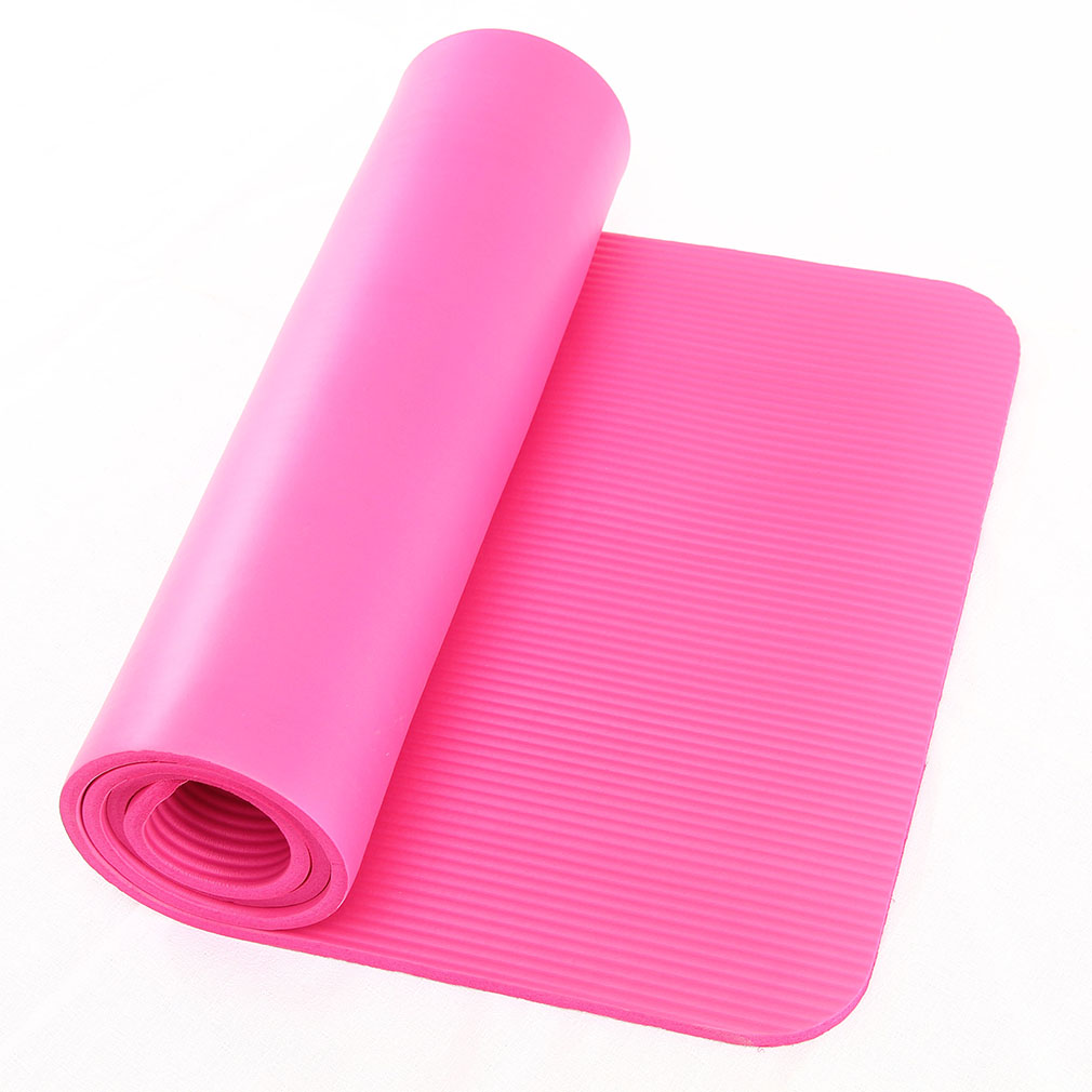Yoga Mat 10mm Thick Exercise Fitness Physio Pilates Gym