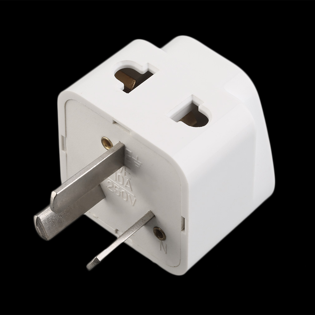 3 Pin Chinese Power Plug Adapter Travel Converter