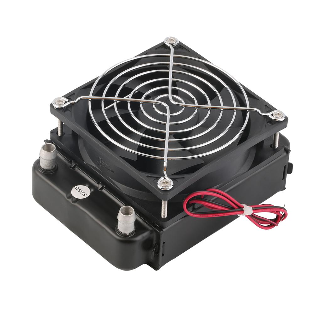 Водяной теплообменник для процессора подогреватель сетевой воды