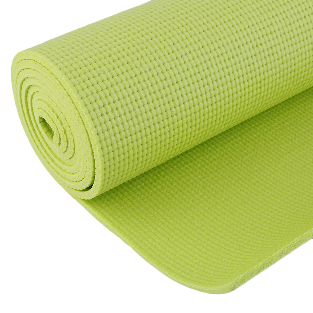 Fitness PVC Non-slip Thick Yoga Mat Pad For Exercise